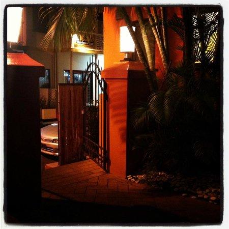 Nishi Restaurant:                   The entrance...