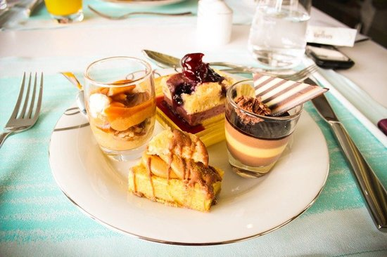 Jumeirah at Etihad Towers:                                     mouth-watering desserts