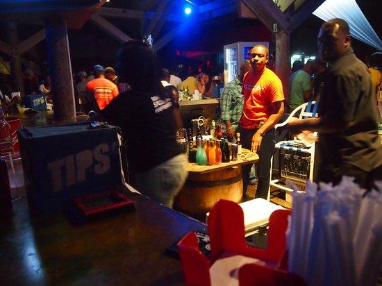 Pier 1: The bar (sorry bad shot)