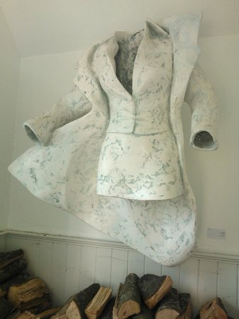 The Congregational Art Gallery and Cafe: Life sized waxed plaster sculpture - Alan Scott