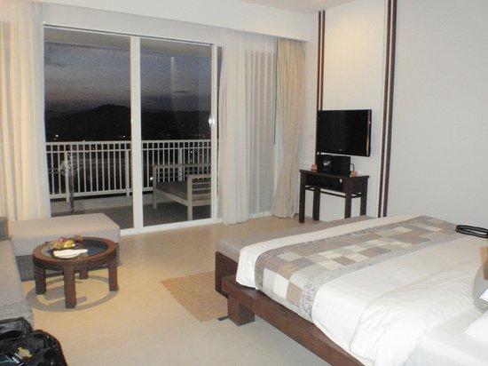 Cape Panwa Hotel:                   Bedroom in new block