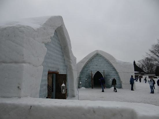 Old Quebec Tours: Ice Hotel