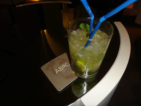 ABaC Barcelona: mojito au lounge