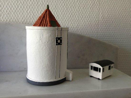 Villa Strandly: Water Tower and Cabin
