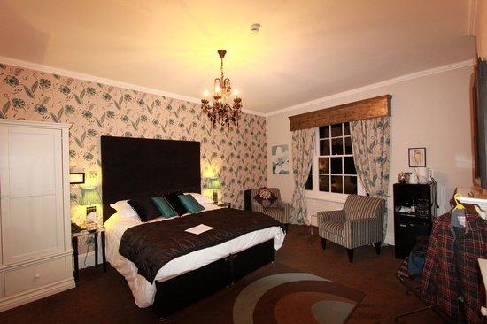 Satis House Hotel:                   Minsmere room