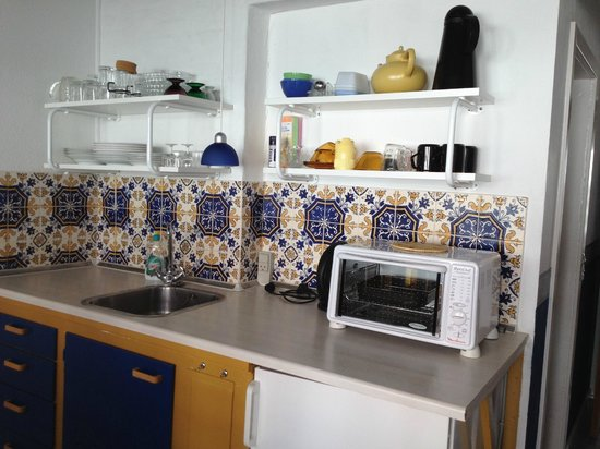 Villa Strandly: Kitchen - small apartment 2-3 people