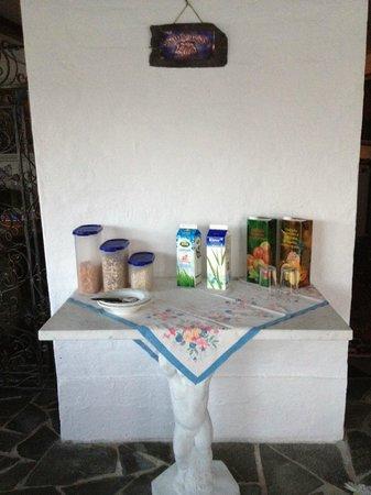 Villa Strandly : Breakfast