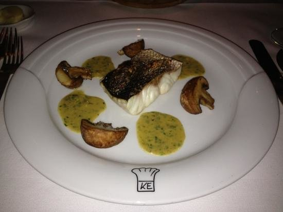 Ederer:                   maßlos versalzener Fisch