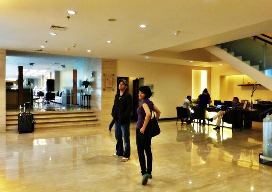Novotel Jakarta Mangga Dua Square: Entrance to the lounge and business centre on the Premier Floor
