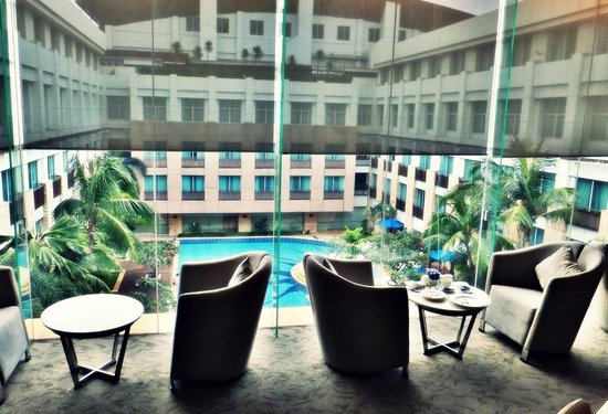 Novotel Jakarta Mangga Dua Square: View from the Premier Lounge on the Premier Floor