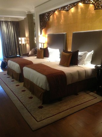 Jumeirah Zabeel Saray:                   twin room