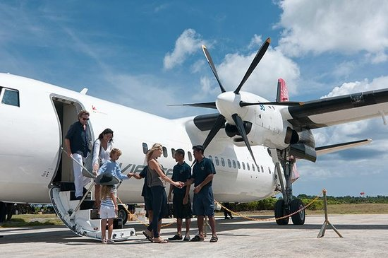 Convenient Private Charter Flight from Bali to Wakatobi Dive Resort