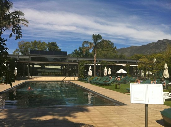 Vineyard Hotel:                   Pool, Gym & Spa