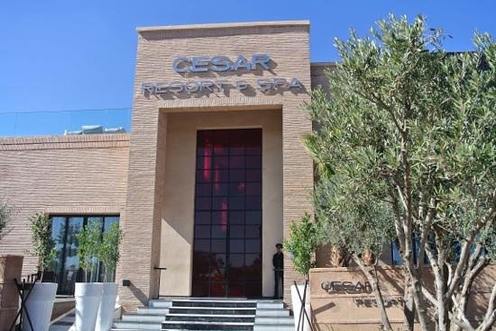 Cesar Resort & Spa:                                     l'entrée