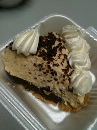 Big Easy : Chocolate Peanut Butter Pie - rich and decadent