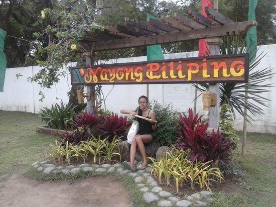 Nayong Pilipino:                   Front