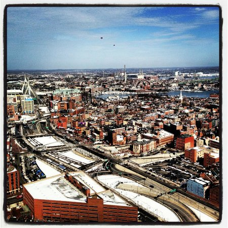 Marriott Vacation Club Pulse at Custom House, Boston:                   View From The Top