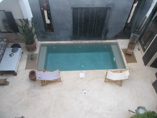 Riad Dar Massai:                   Inside the Riad