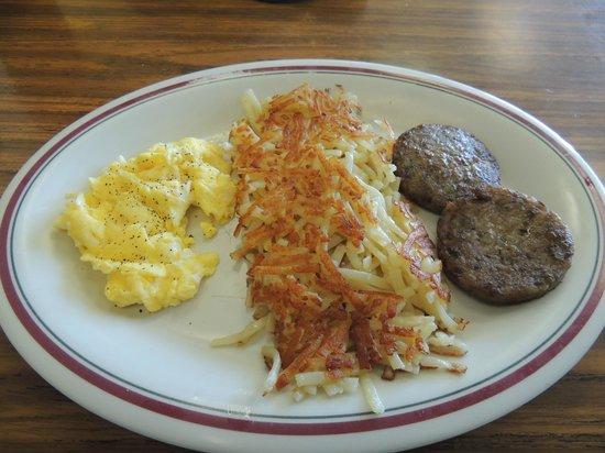 Cedar Bay Cafe:                   Breakfast