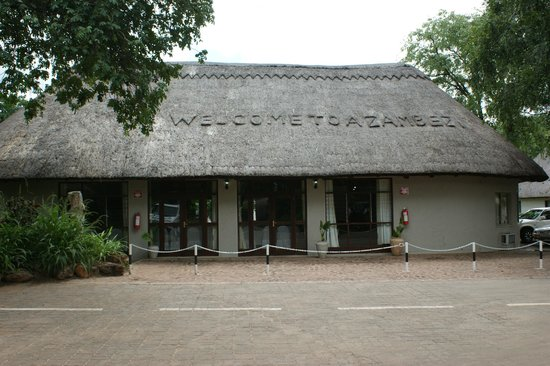 A'Zambezi River Lodge:                   Function rooms