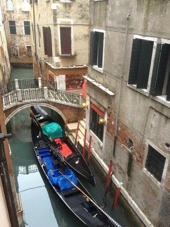 Starhotels Splendid Venice:                   CANAL VIEW FROM THE ROOM