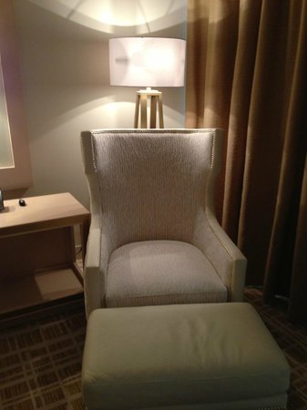 Waldorf Astoria Panama:                   Comfy chair in the room
