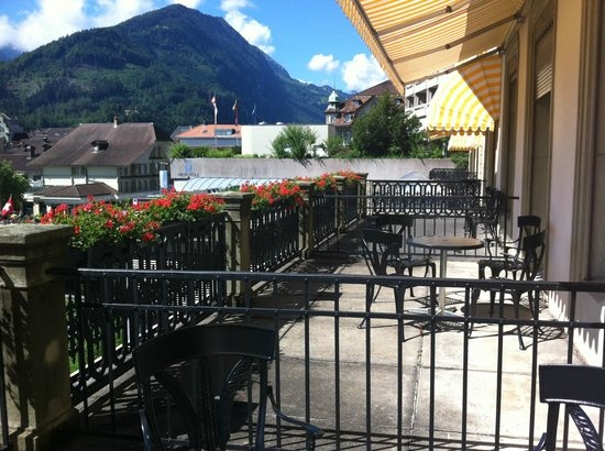 Victoria Jungfrau Grand Hotel & Spa:                   room terrasse suite 115