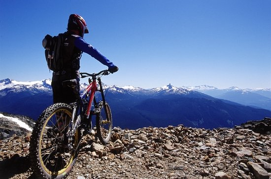 British Columbia, Canada:                   Whistler Mountain in the summer