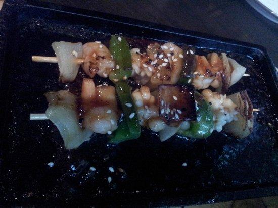 Ginnan Japanese:                   No-repeat hot food