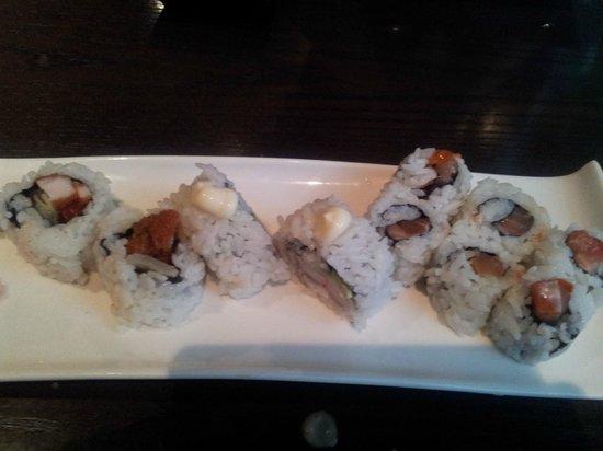 Ginnan Japanese:                   buffet