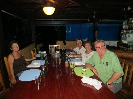 Saladero Eco Lodge:                   A Pleasant Dinner