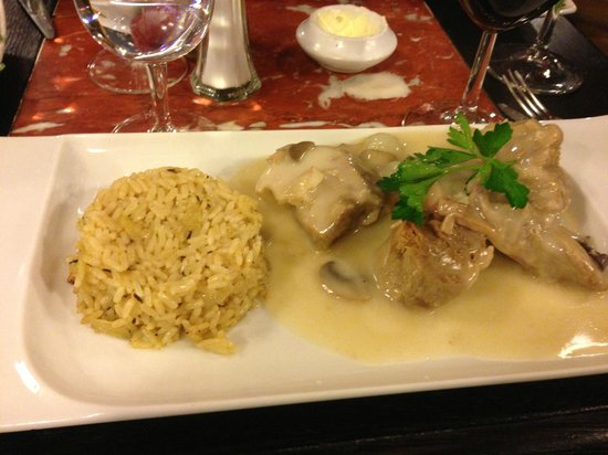 L'Ecluse : veal special of the day