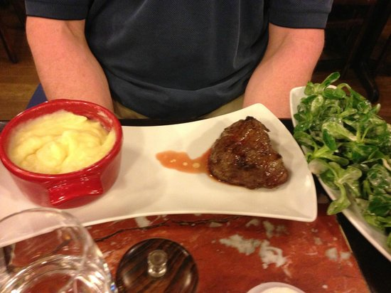 L'Ecluse : beef dish
