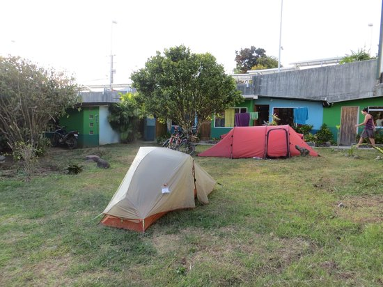 Pension Santa Elena:                   Camping Area