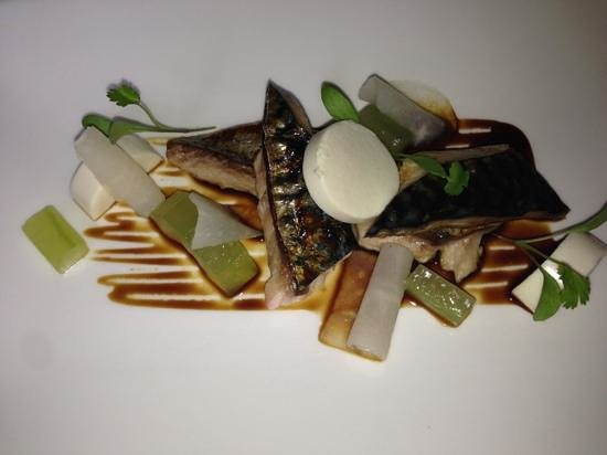 The Dining Room At Mallory:                   mackerel