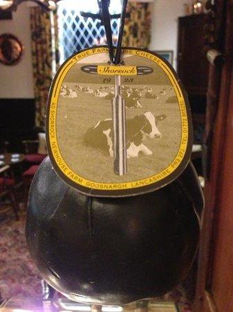 Ye Horns Inn:                                     cheese