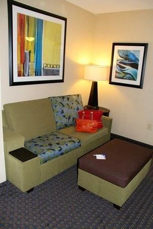 Holiday Inn Express Hotel & Suites Largo-Clearwater: mini-suite sitting area