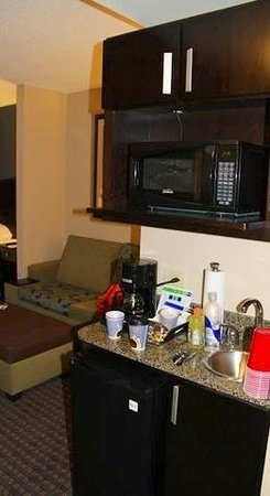Holiday Inn Express Hotel & Suites Largo-Clearwater: kitchenette