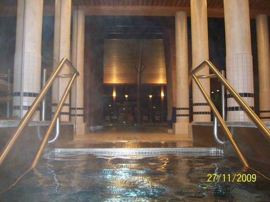 Terme di Andeer:                   Uscita dalla piscina esterna