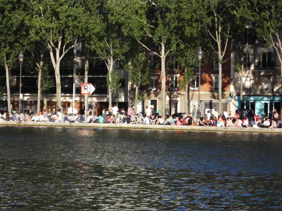 St Christopher's Canal Paris: canal