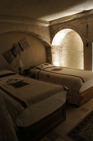 Cappadocia Cave Suites:                   The bedroom.
