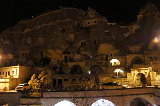 Cappadocia Cave Suites:                   Inside the hotel compound