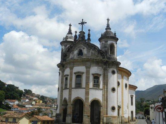 Our Lady of Rosario dos Pretos church : Igreja N S do Rosário dos Pretos