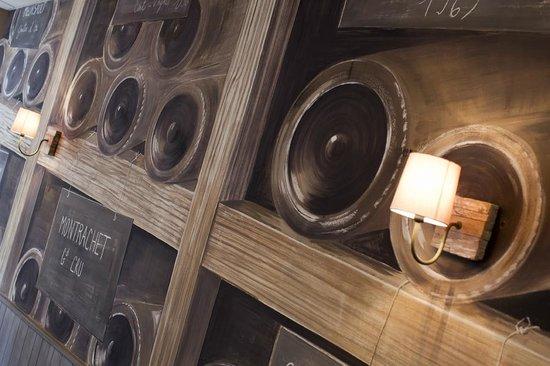 Le Tast'Vin : Décor soigné/ personalised banqueting room design