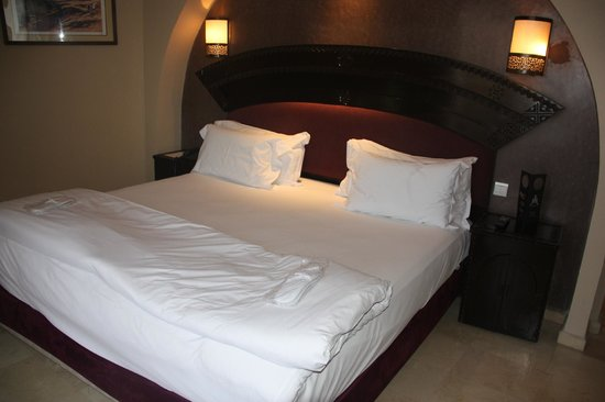 Hivernage Hotel & Spa:                                     cama