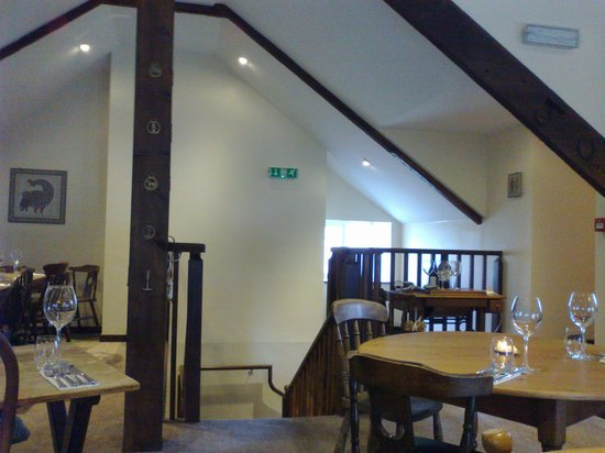 Upstairs at the Treby Arms