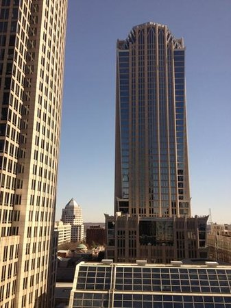 Omni Charlotte Hotel:                   view from our room