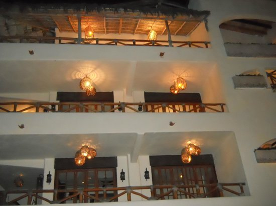 Hotel Playa Fiesta:                   view of the balcony