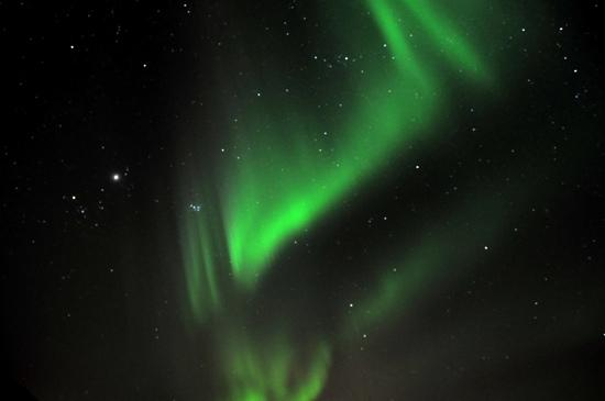 Hotel Ork:                   I took this photo of he Northern Lights just a couple of miles away from the h