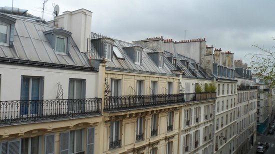 roof top view picture of hotel gabriel paris paris tripadvisor. Black Bedroom Furniture Sets. Home Design Ideas